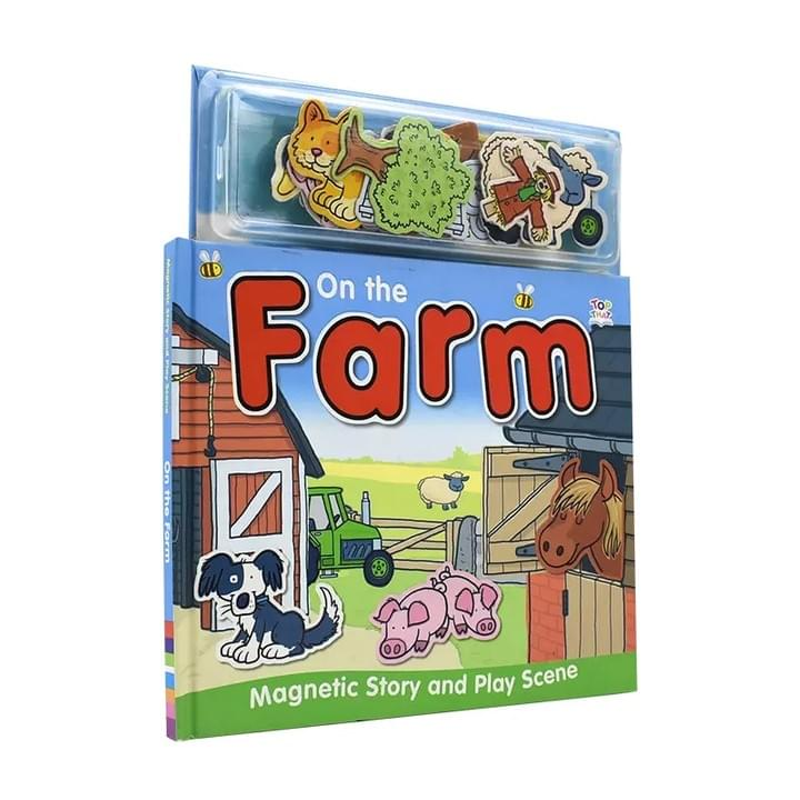 Children's Magnetic Farm Play Books