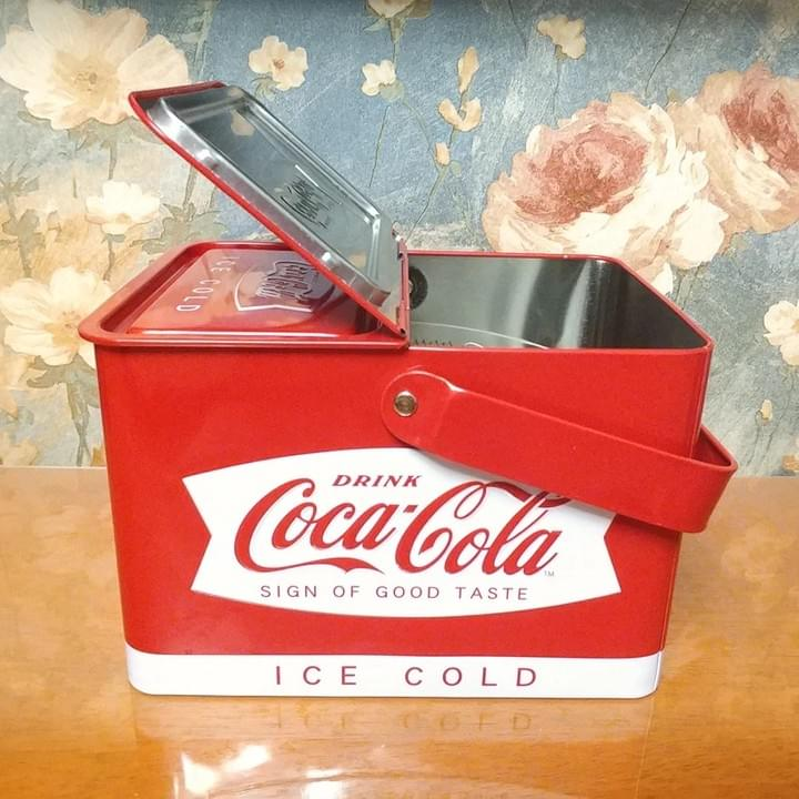 Custom branded Vintage Tin Lunch Boxes