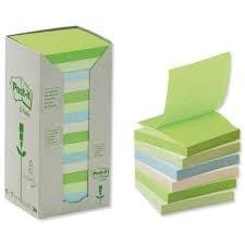 office green sticky Memo block set