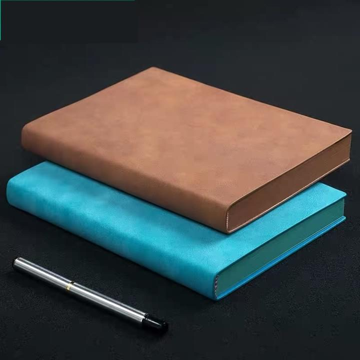suede leather cover journal notebooks