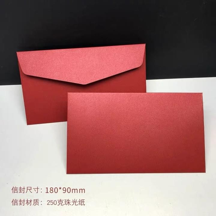 Red Envelopes for wedding, invitation, birthday