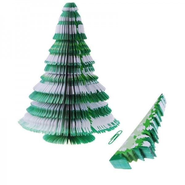 3D Christmas tree shaped Memo pad