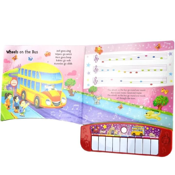Children's piano music Sound Books
