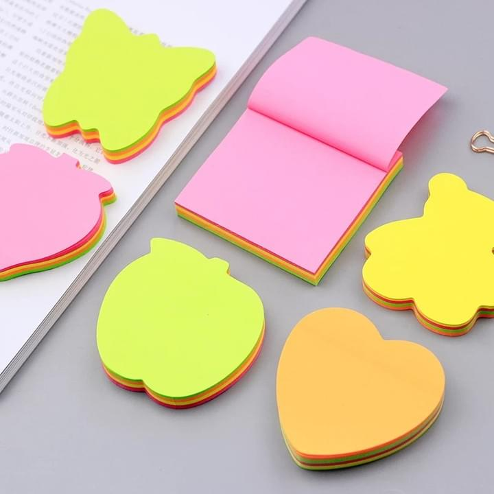 Shaped Memo notepad
