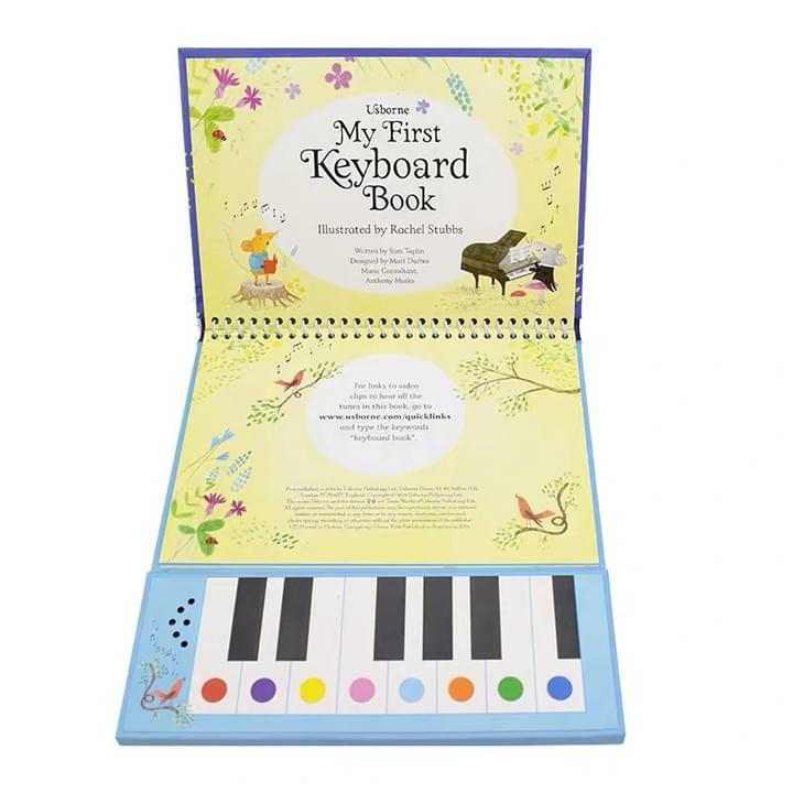 kids piano music keyboard Sound Books