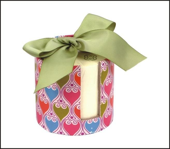 memo pad gift box set with ribbon