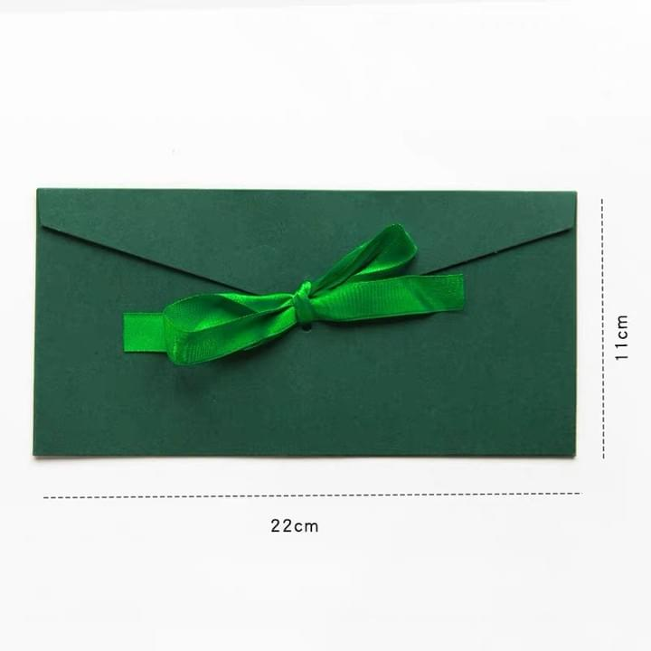 Thank you cards Envelopes with ribbon