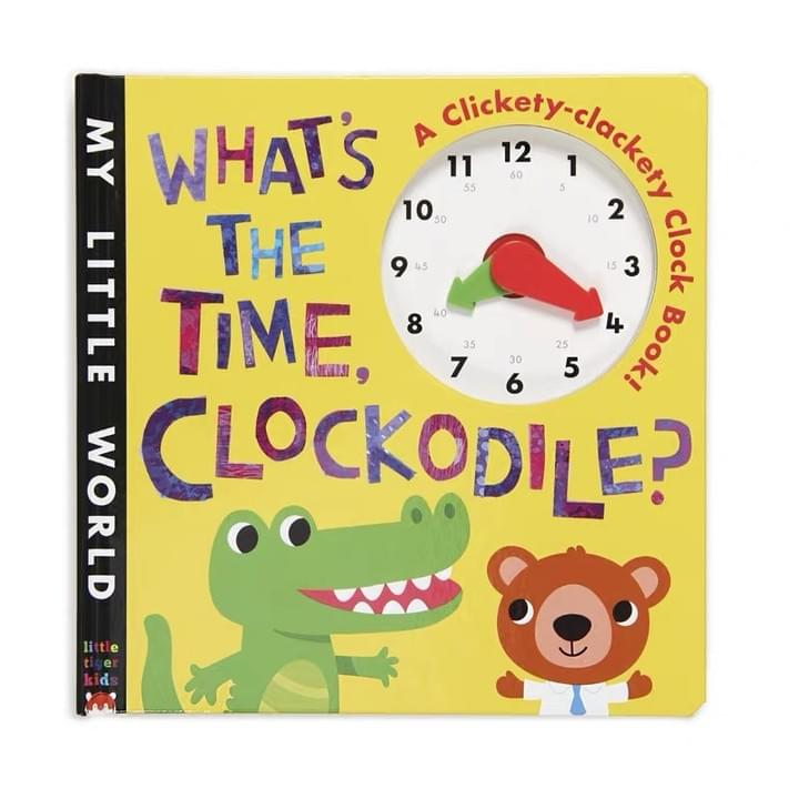 Children's Clock Board books
