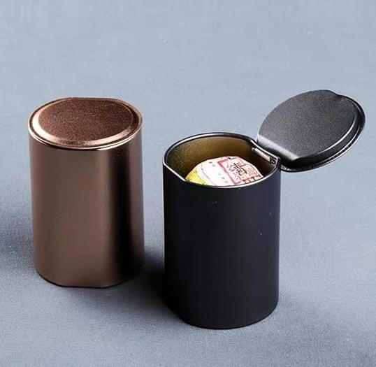 Tube Tin Packaging Box for Tea