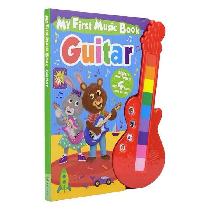 Children's guitar music Sound Books