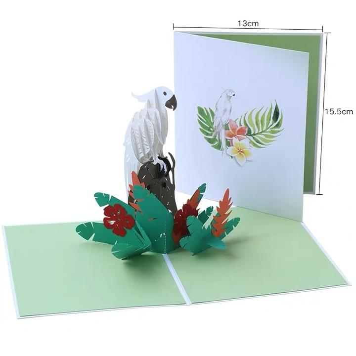 3D Pop Up Animal Greeting Cards