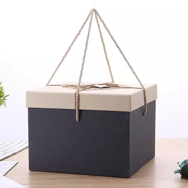 Birthday Gift box with string handle