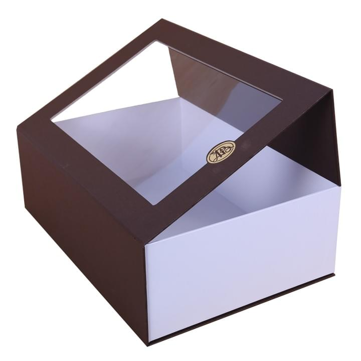 Magnetic Closure Gift Box With Window