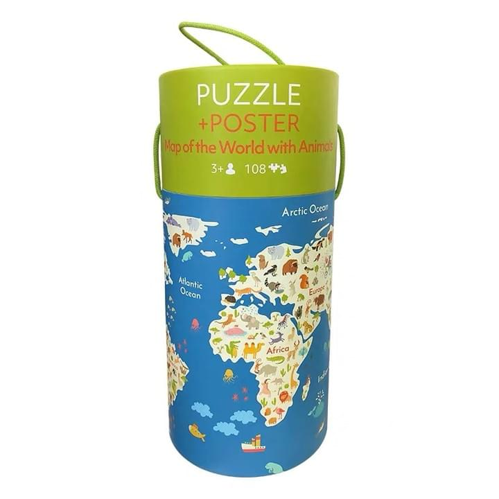 jigsaw Puzzle In Tube Box