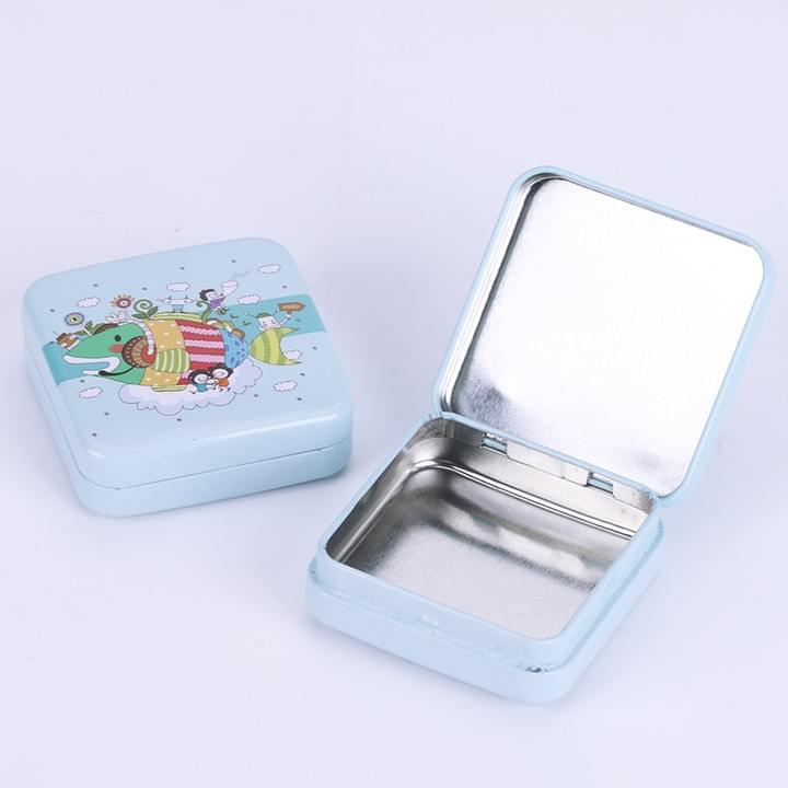 Customized hinged gift Tin box