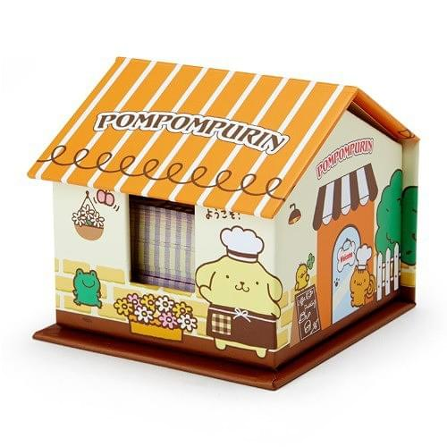 Kawaii House Shaped Memo Pad Set