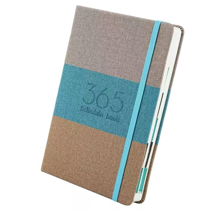 planner Notebook with elastic band