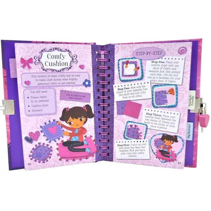 Children Notebook with lock and key