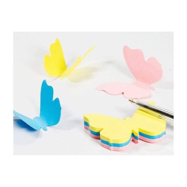 3D butterfly shaped Sticky note