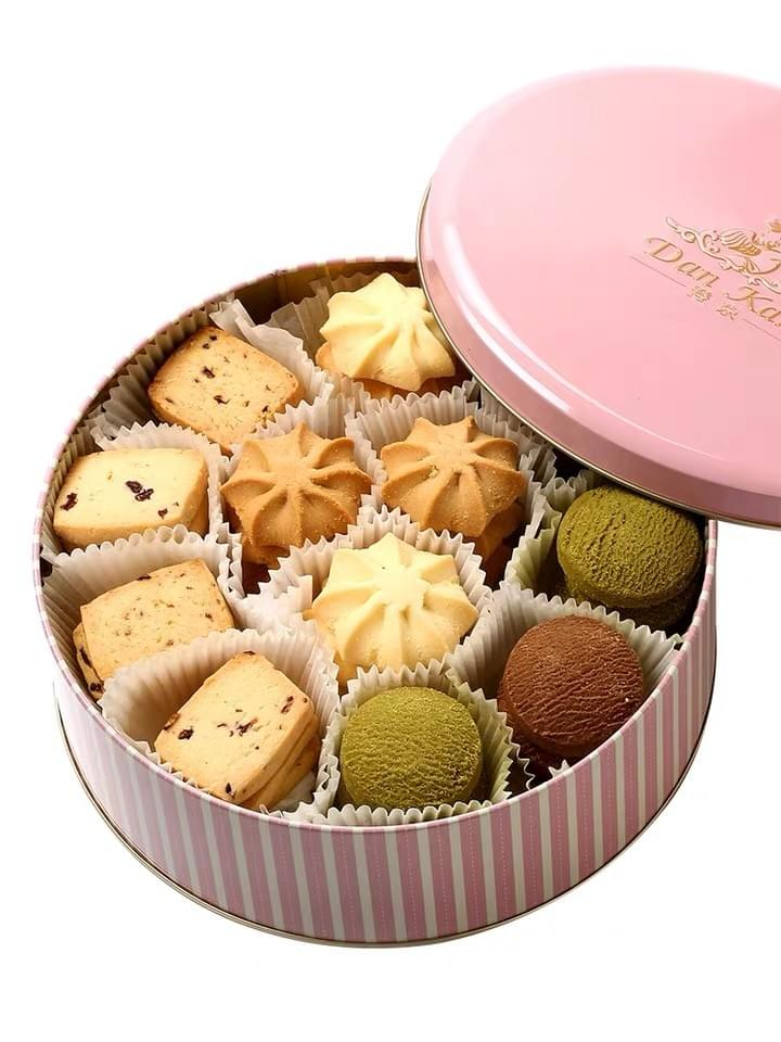 Food Grade Cookie Tin Boxes