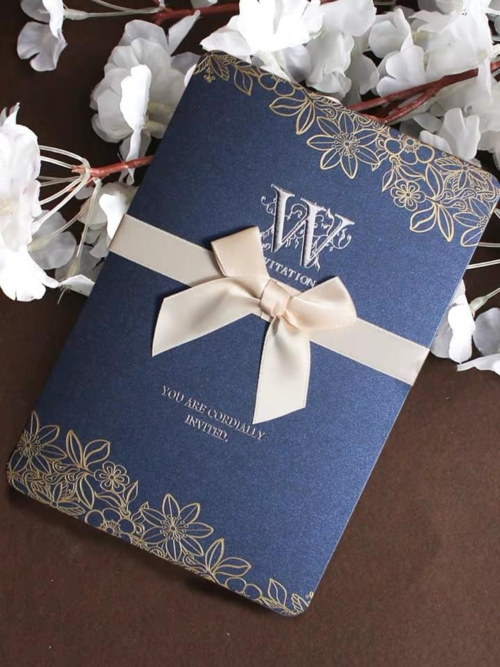 Greeting Cards with ribbon