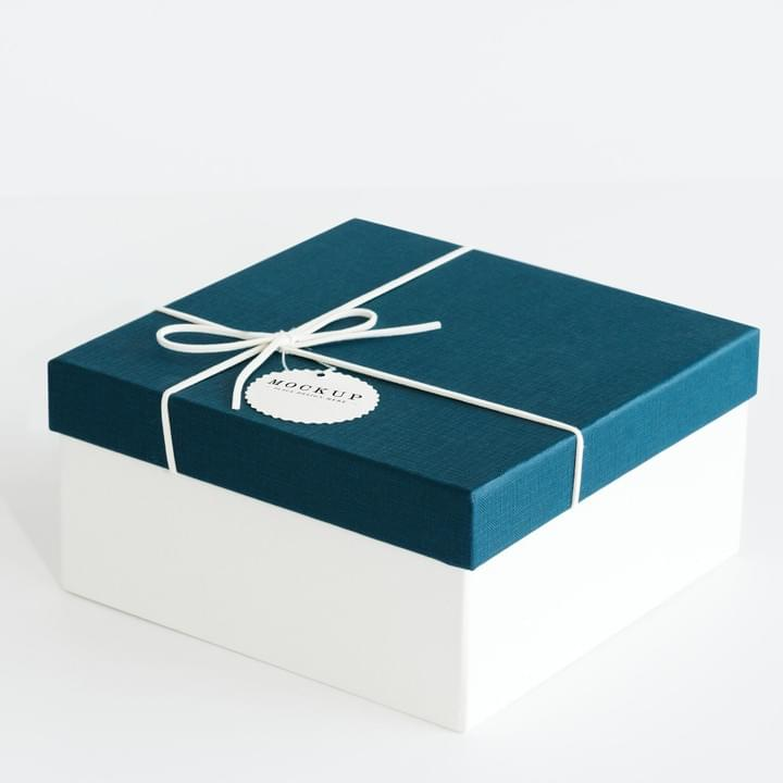 Blue Apparel clothing Gift Packaging boxes