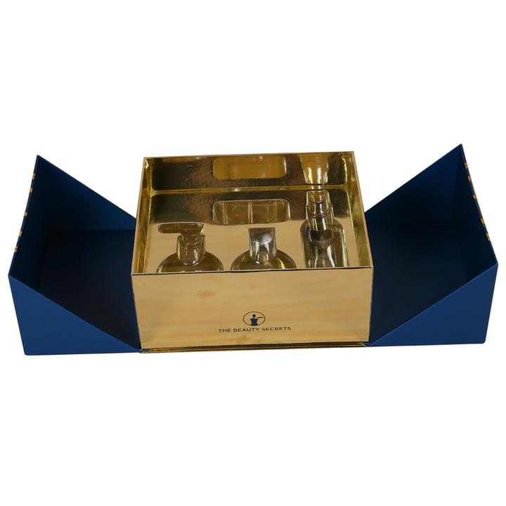 luxury Double Doors Cosmetic Packaging gift Boxes