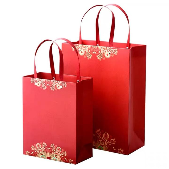 Red New Year Paper Bags