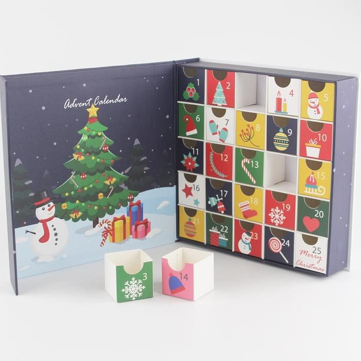 Advent Calendar Packaging Boxes