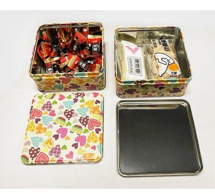 Food Grade Square Candy Tin Boxes