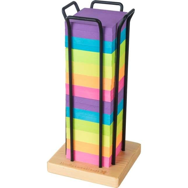 office Rainbow Sticky Note block Tower