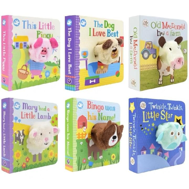 Finger Puppet Board Books