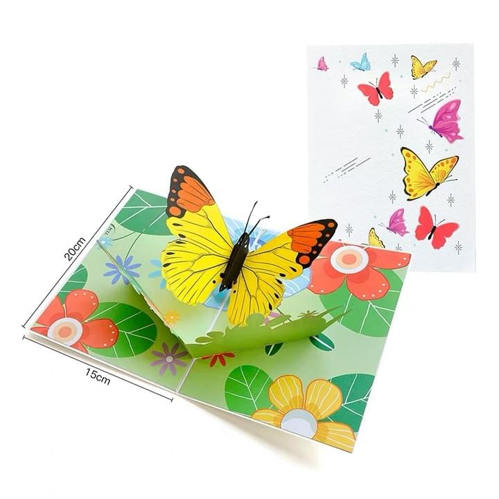 3D butterfly Pop Up Greeting Cards