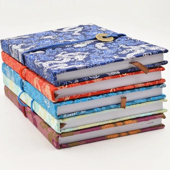 fabric cover notebooks