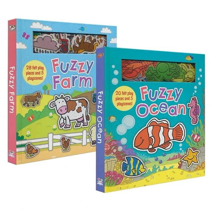 Children's Magnetic Play Books