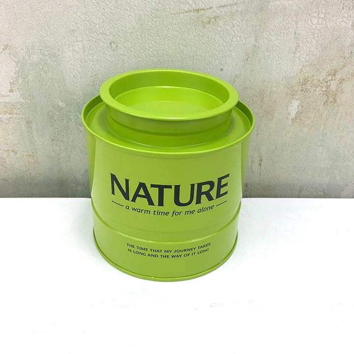 Cylinder shaped Tin Packaging Boxes