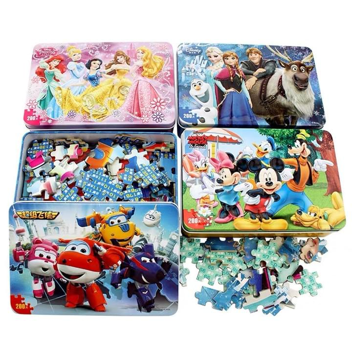 Customized jigsaw puzzle Tin box sets