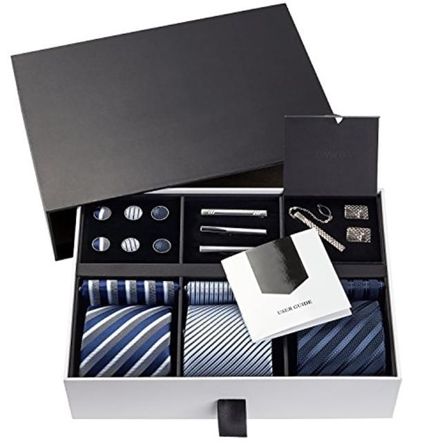 necktie Black Packaging gift Boxes