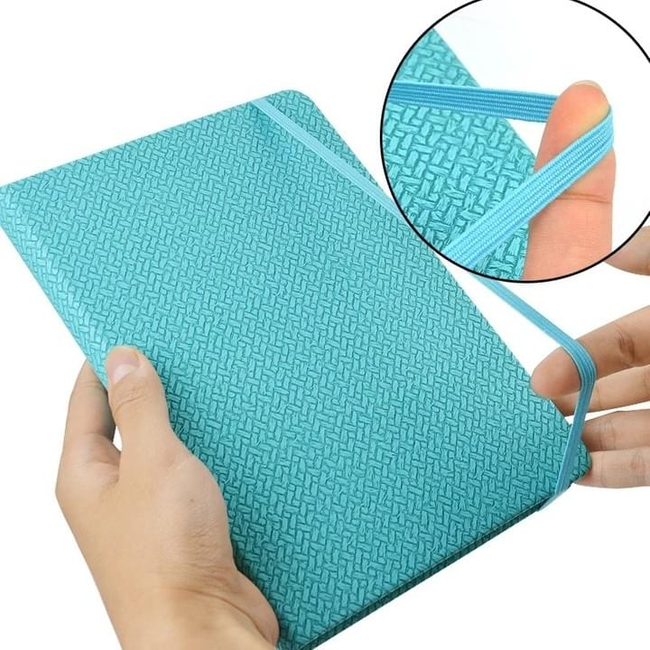 Diary Notebook with elastic band