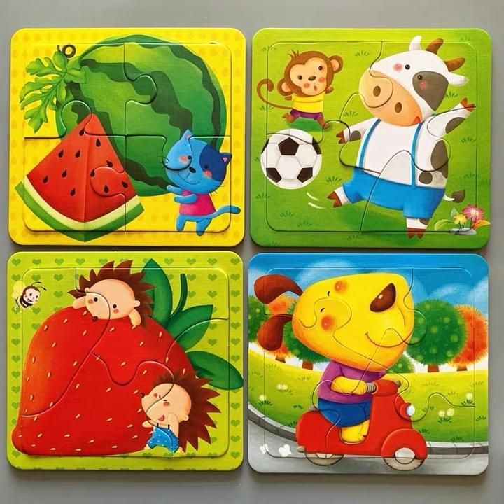 Customized Children Paper Puzzle