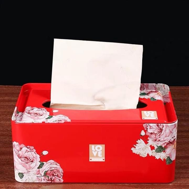 Napkin tissue paper Tin Boxes
