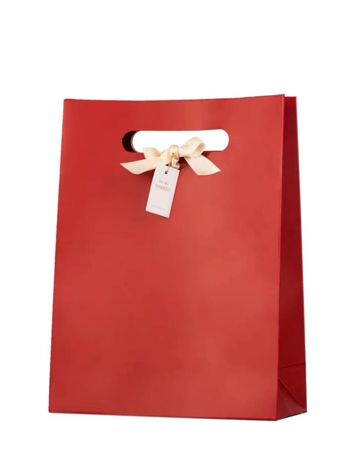 Red Carrying Paper gift Bags