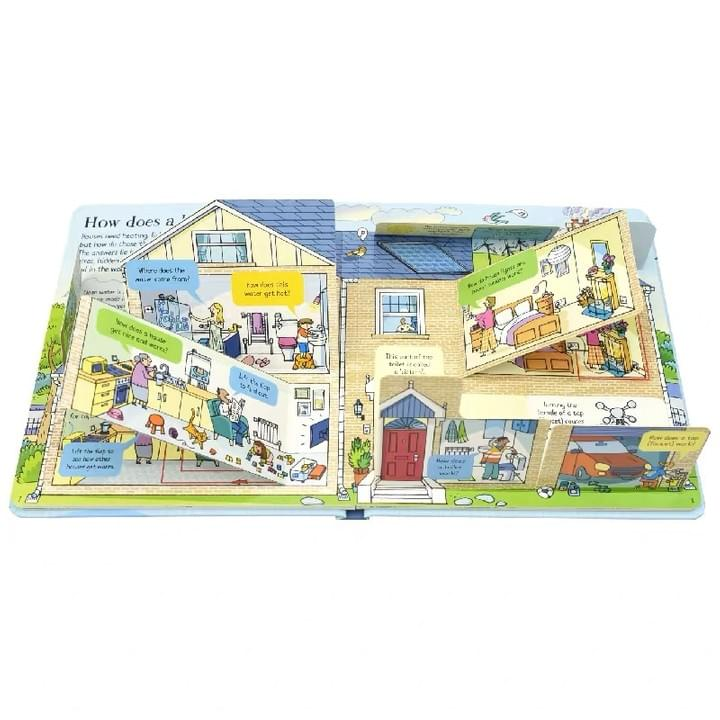 Children's Peek-a-Flap  board Books