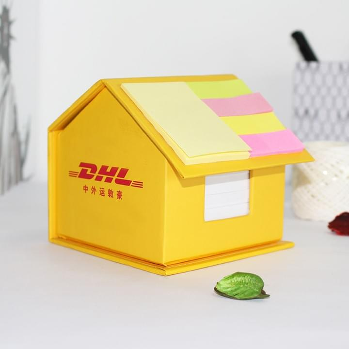Promotional custom Logo House Shaped Memo Pad Sets