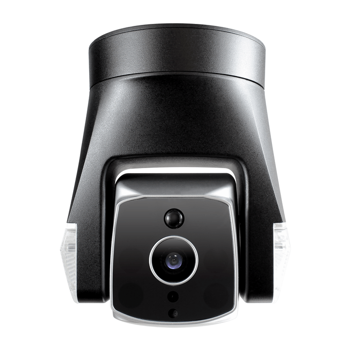 Ares amaryllo outdoor security camera uses biometric analytics