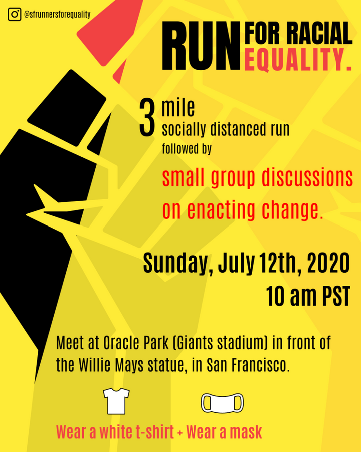 Run for Racial Equality - SF