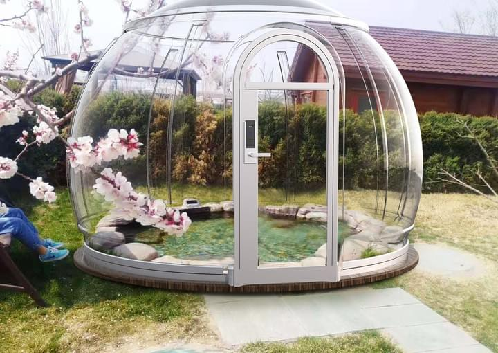 outdoor garden domes US