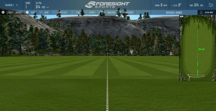 Foresight Sports Indoor Virtual Driving Range