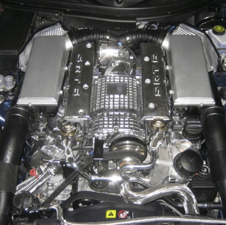 Mercedes Benz SL650 Supercharger kompressor