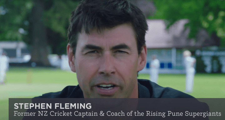 STEPHEN FLEMING - FORMER NZ CRICKET CAPTAIN